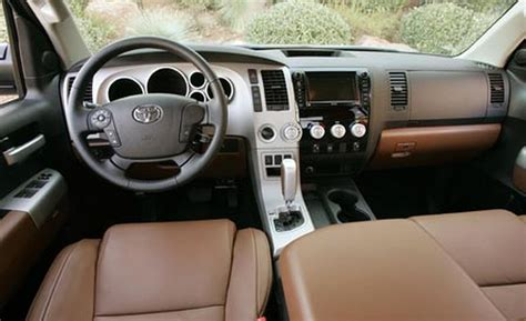 2007 Tundra Interior car and driver