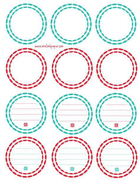 template for circle labels free printable tags new calendar template site
