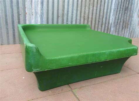 Vintage Molded Fiberglass Table For Sale At Pamono