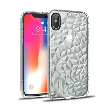 pattern transparent clear tpu mobile cell phone back cover for iphone xs max