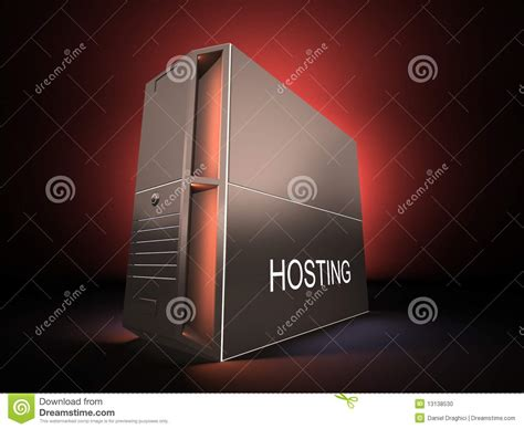 and light server hosting hosting server stock photo image 13138530