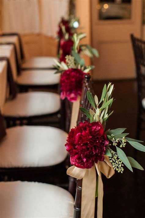 fall pew decorations for weddings 25 best ideas about pew decorations on