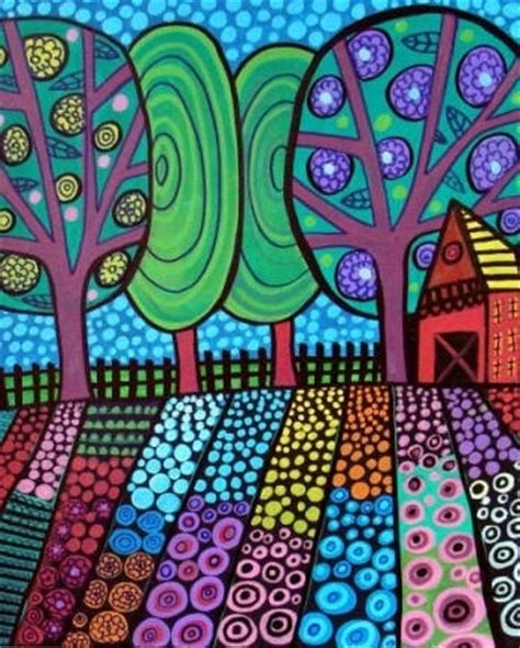 pattern art grade 4 3rd grade heather galler patterned landscapes jamestown