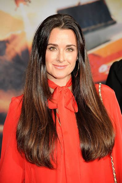 kyle richardson extensions hair kyle richards shares her tips for keeping her hair looking