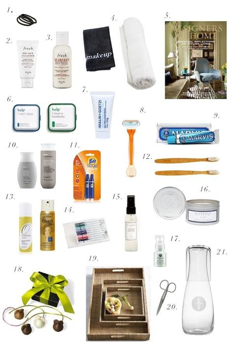 essentials for your house room and bath essentials for your house guests girly