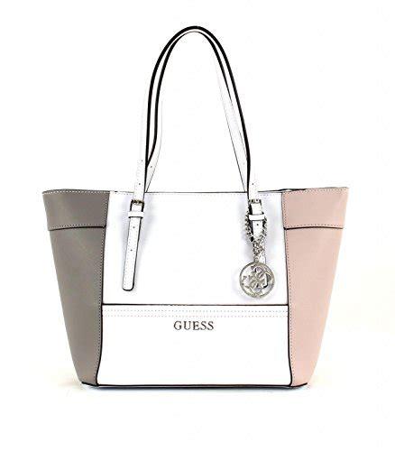 Guess Kims Cattralls Designer Handbag by Guess Delaney Small Classic Panel Tote Bag Cloud Multi