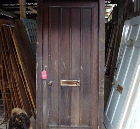 Oak Front Door Authentic Reclamation Reclaimed Oak Front Door