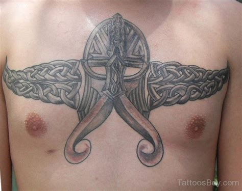 viking chest tattoo chest tattoos designs pictures page 3
