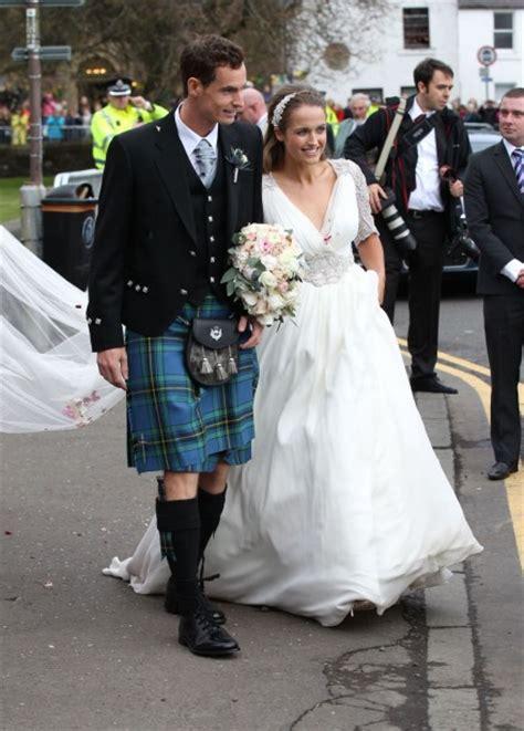 andy murray wedding kim sears wedding dress the fashion verdict marie claire