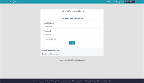 layout login php php responsive template a highly professional website