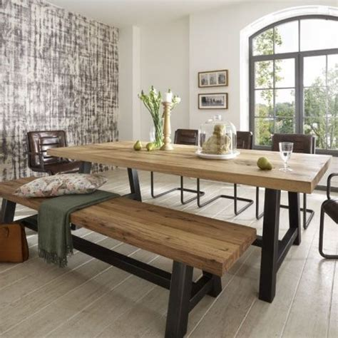 wood bench dining table 25 best ideas about dining table bench on pinterest