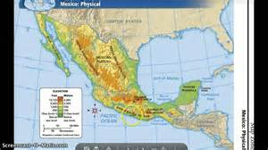 map of south america elizabeth the mexico s physical features