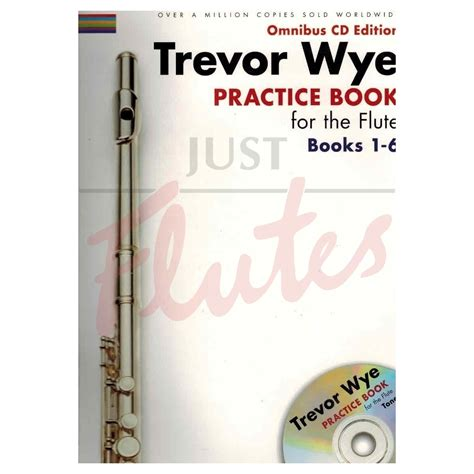 trevor wye flute secrets books practice book for flute omnibus edition books 1 6 with