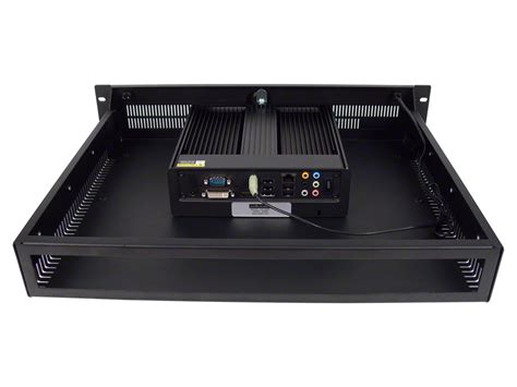 Pc Rack by Fanless Noise Free Rack Mount Pc Server With Single Or