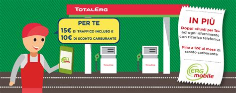 erg mobile offerte erg mobile due nuove offerte e sconto carburante di 10