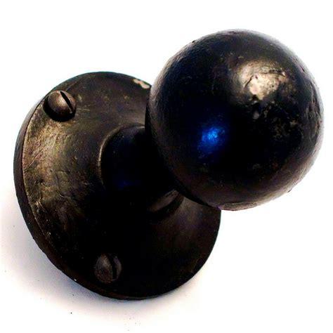 door knob set beeswaxed sprung