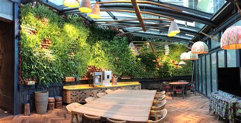 green wall inhabitat green design innovation