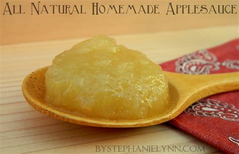 all natural homemade applesauce recipe how to make stovetop applesauce bystephanielynn