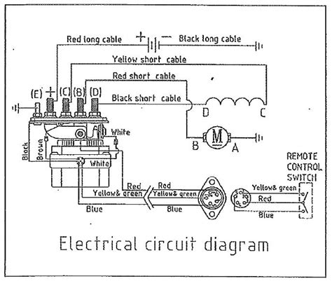 t max 9500 winch wiring diagram wiring diagrams