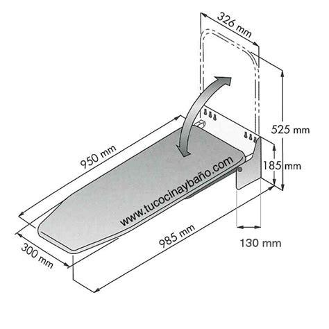 tabla de planchar plegable y extraible eco ahorra espacio tabla plancha plegable mueble tu cocina y ba 241 o