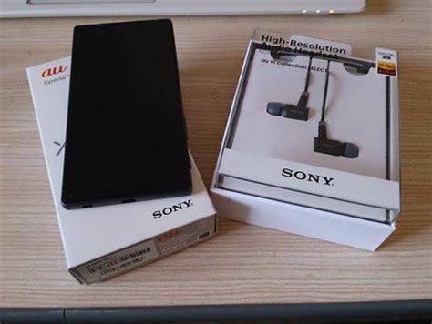 Sony Xperia Z5 Au Japan sony xperia z5 now on sale in japan xperia