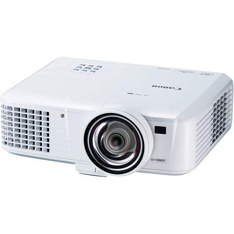 Proyektor Xga canon lv x300st 3000 lumen xga throw dlp projector