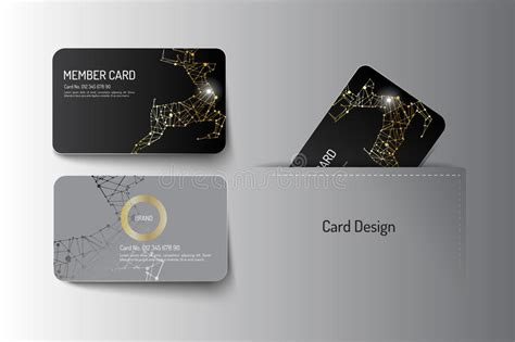 Vip Business Card Template by Vip Business Cards Design Business Cards Ml 3a4600b970ae