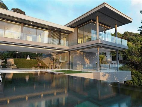 villa with contemporary and ultra modern architecture amanzi home building furniture and