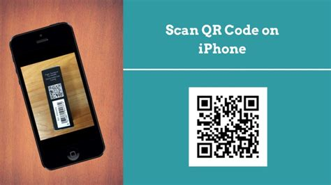 iphone qr code how to scan qr code on iphone with the new ios 12 feature