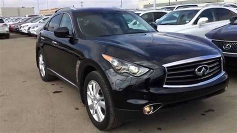 2012 Infiniti Fx35 Reviews by Pre Owned Black 2012 Infiniti Fx35 Awd 4dr Premium Review
