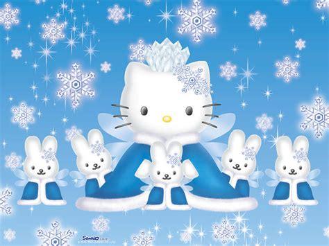 hello kitty wallpaper biru 헬로키티 카드 웰페이퍼 이미지 종이공작세상 paperworld