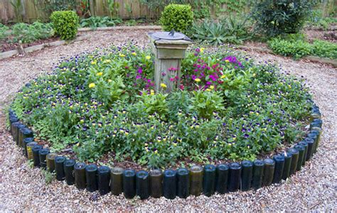 Recycled Garden Edging Ideas Repurposed And Recycled Creative Ideas For Garden Design
