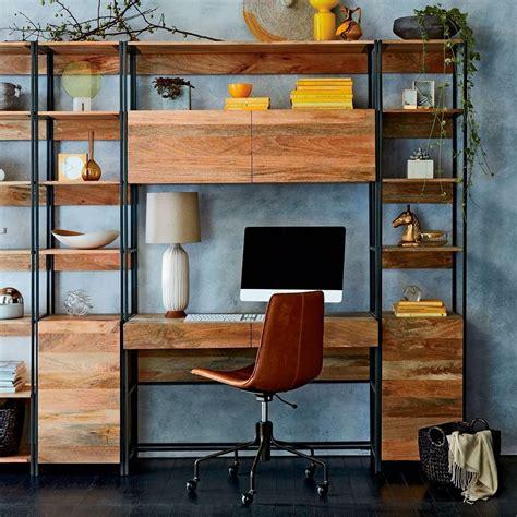 industrial modular  cm desk west elm uk