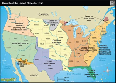 manifest destiny map geography manifest destiny