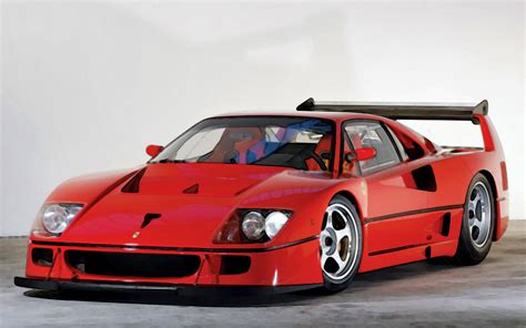 Ferrari F 40 by Ferrari F40 Lm Red 1 18 Looksmart Models