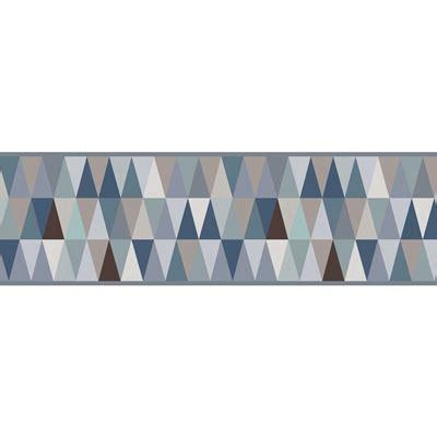 frisos decorativos friso decorativo adesivo tri 194 ngulos azul leroy merlin