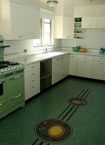 Retro Flooring by Retro Kitchens That Spice Up Your Home