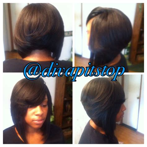 sew in long bob weave no leave full sew in with no leave out divapitstop on instagram