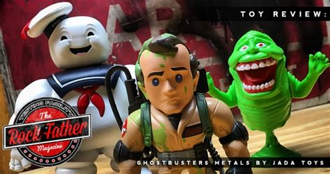 Metal Diecast Stay Puff review ghostbusters metals diecast stay puft marshmallow venkman slimer