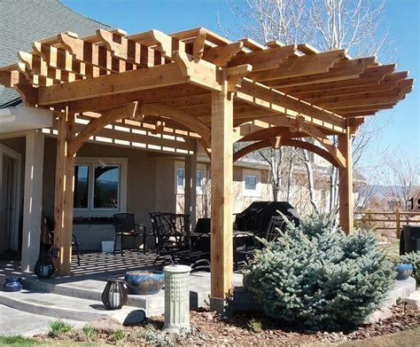 roofing ideas for pergolas 12 pergola roofing design ideas western timber frame