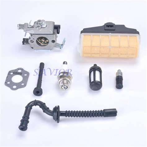 Carburetor With Fuel Line Air Filter Spark Plug For Stihl