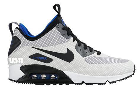air max 90 boots nike air max 90 mid sneakerboot fall winter 2015 sneaker