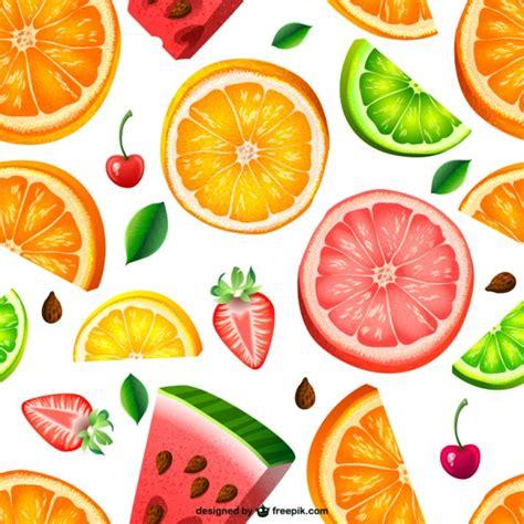 juice pattern vector seamless fruit pattern vector free download