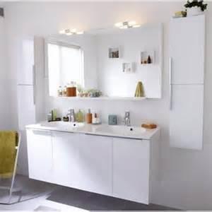 meuble de salle de bains remix blanc leroy merlin