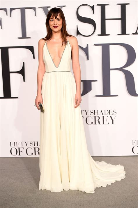 Fifty Shades Of Grey Film Premiere London | dakota johnson fifty shades of grey premiere in london