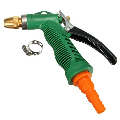 Hose Nozzle Water Spray Semprotan Semprot Air Gun Selang Slang Motor metal hose nozzle high pressure water spray gun sprayer garden auto car washing alex nld