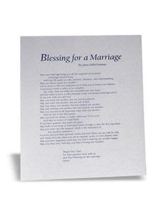 Wedding Blessing Dillet Freeman by Blessing For A Marriage By Dillet Freeman Wedding