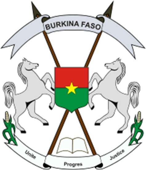 Armoirie Burkina Faso symboles nationaux burkina faso