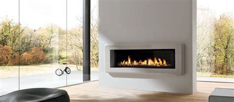 Shallow Gas Fireplace by Gas Fireplaces Ottawa Gas Inserts Ottawa The Burning Log
