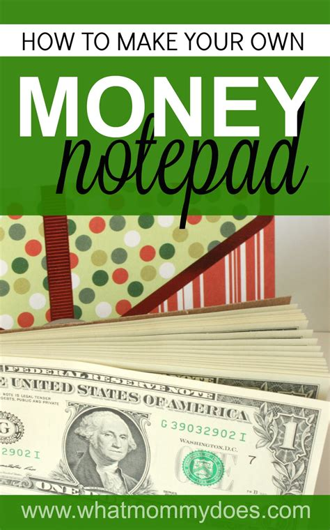 how to donate a christmas gift to a kid how to make a money notepad the coolest gift idea for